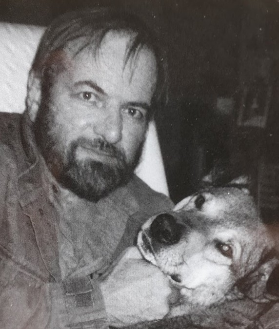 Deely and dog